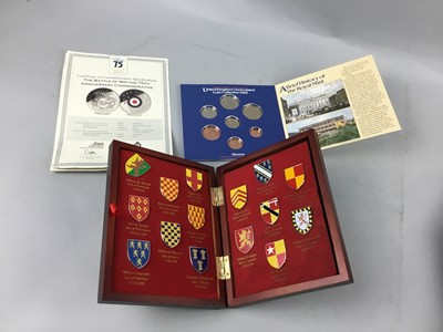 Lot 44 - A LOT OF ASSORTED COINS AND COIN SETS