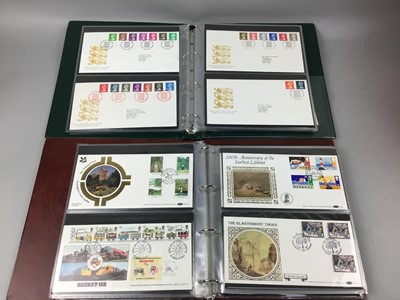 Lot 58 - A COLLECTION OF FIRST DAY COVERS IN ALBUMS