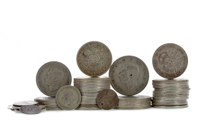 Lot 4 - A COLLECTION OF PRE-DECIMAL COINS