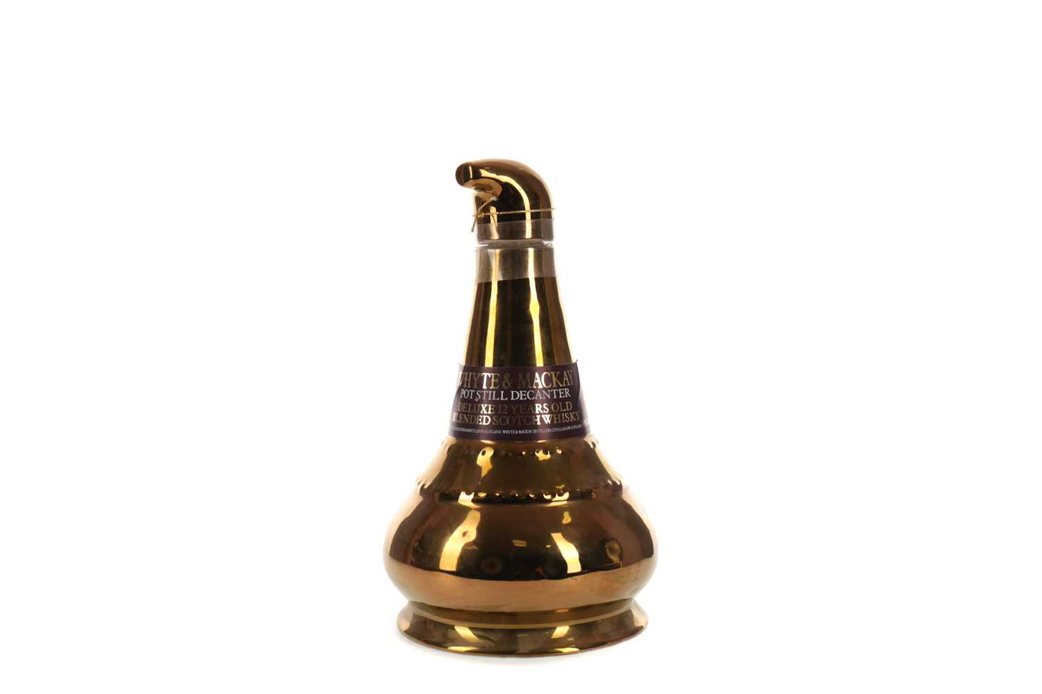 Lot 64 - WHYTE & MACKAY 12 YEARS OLD POT STILL DECANTER