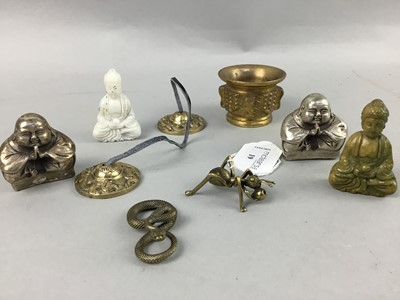Lot 19 - A COLLECTION OF BRONZE MINIATURES