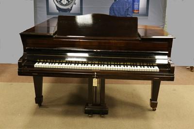 Lot 1153 - A BOUDOIR GRAND PIANO