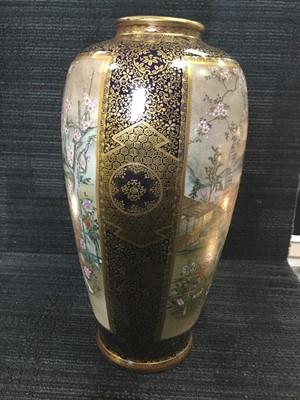 Lot 1664 - A MEIJI PERIOD JAPANESE SATSUMA VASE