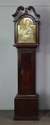 Lot 1156 - AN EARLY 19TH CENTURY AND LATER LONGCASE CLOCK