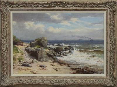 Lot 17 - INCHMACOLM, FORTH ESTUARY, AN OIL BY A E FRASER