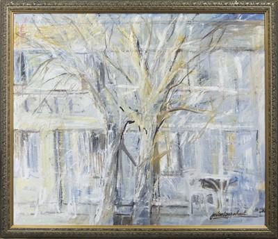 Lot 605 - THE TREE, AN OIL BY JO VANTOURNHOUT