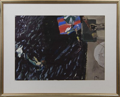 Lot 664 - AN UNTITLED OIL BY IAN DAVID COOK
