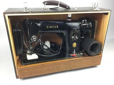 Lot 101 - A SINGER 201K SEWING MACHINE