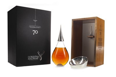 Lot 68 - GLENLIVET 1940 GENERATIONS AGED 70 YEARS - FIRST EDITION