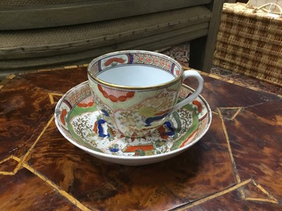 Lot 51 - A COLLECTION OF EARLY TO MID-19TH CENTURY TEACUPS AND SAUCERS