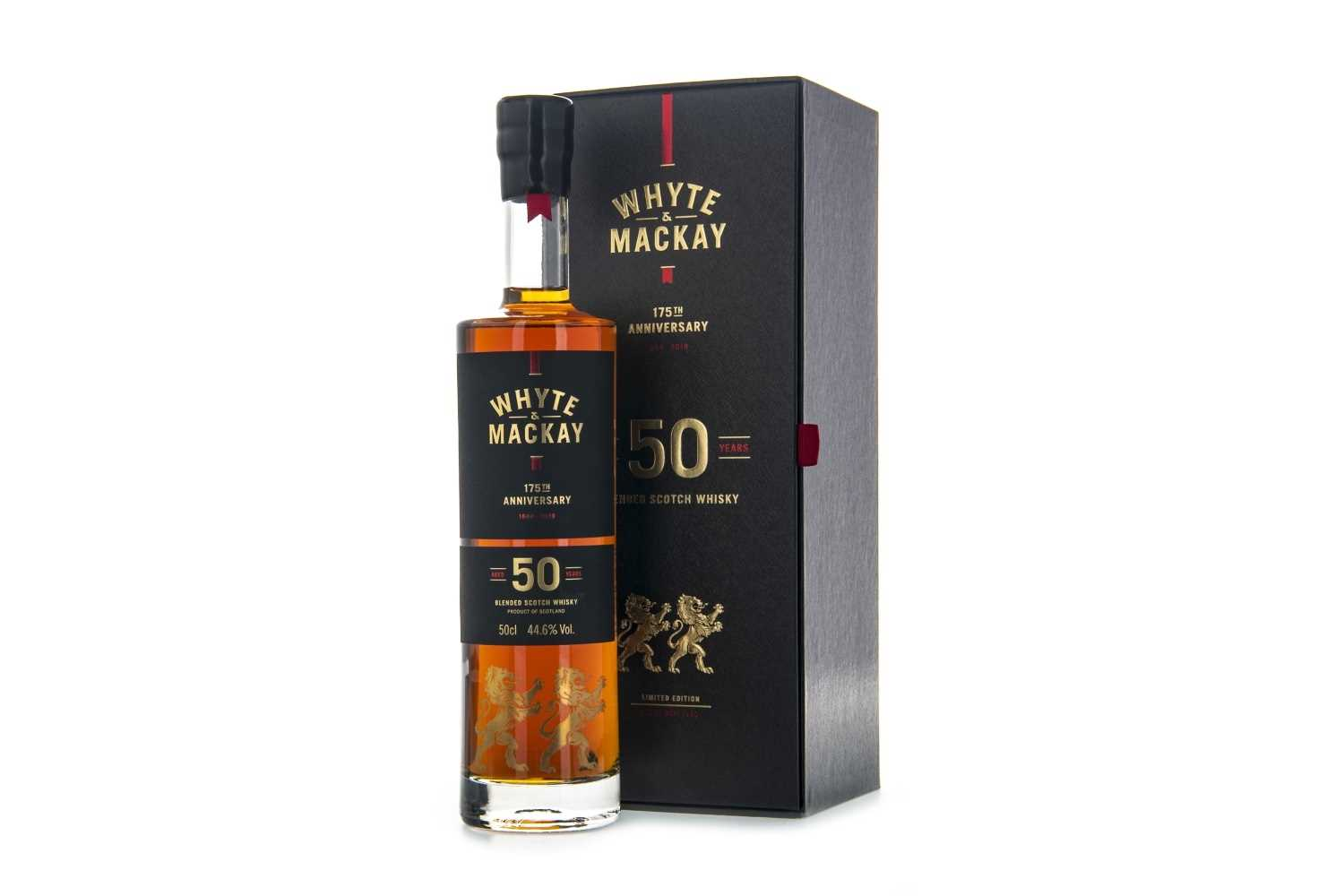 Lot 73 - WHYTE & MACKAY 175TH ANNIVERSARY 50 YEARS OLD - 50CL