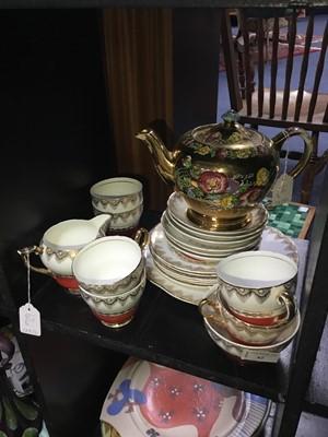 Lot 62 - A LEONORA TEA SERVICE AND A TEA POT