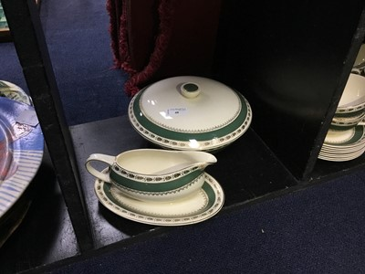 Lot 48 - A CROWN DUCAL DINNER SERVICE