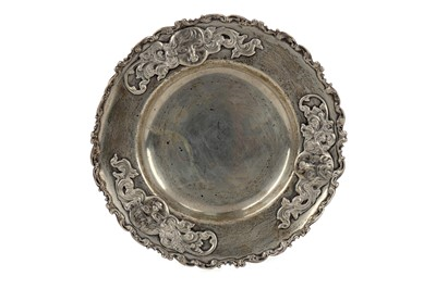 Lot 483 - A SILVER DISH BY HOWARD & CO