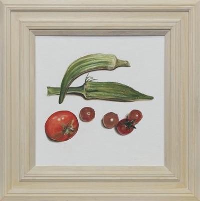 Lot 631 - HARVEST 1, AN OIL BY LES DONAGHY