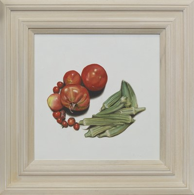 Lot 633 - HARVEST 3, AN OIL BY LES DONAGHY