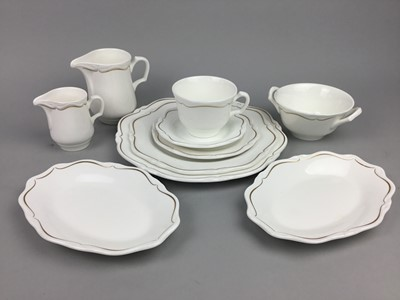 Lot 95 - A WEDGWOOD PART DINNER SERVICE AND ANOTHER