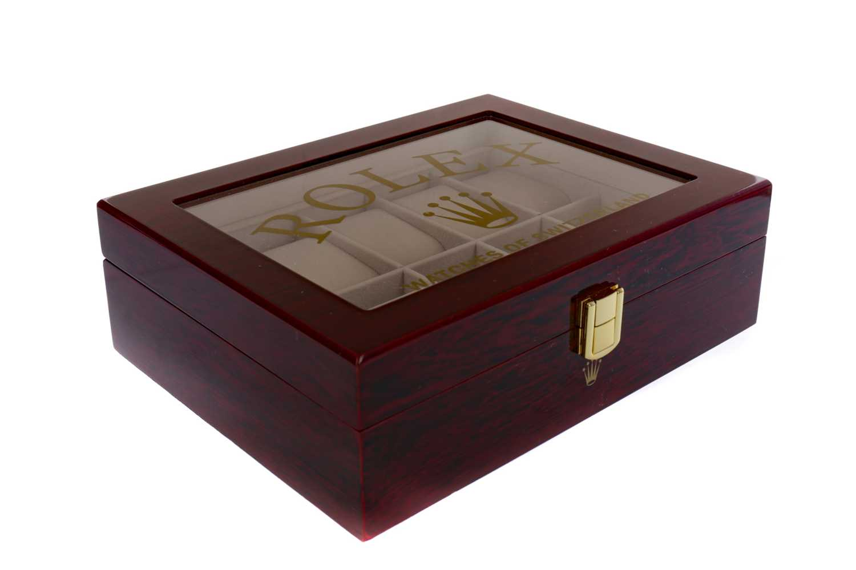 Lot 722 - A WATCH DISPLAY BOX