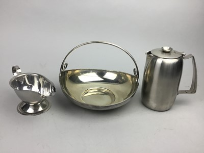 Lot 36 - A COLLECTION OF SILVER PLATED WARE AND CUTLERY