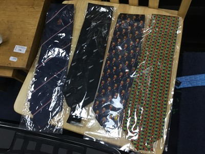 Lot 32 - A COLLECTION OF TWELVE SILK TIES FROM NATIONAL FOOTBALL ASSOCIATIONS