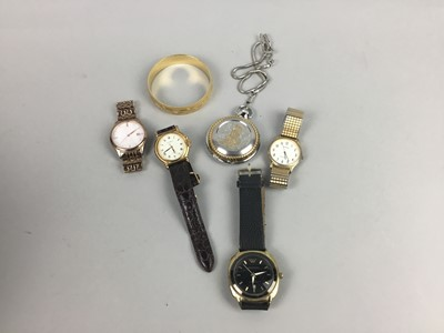 Lot 24 - A LARGE LOT OF WRIST WATCHES