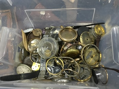 Lot 29 - A LOT OF WATCHES AND WATCH PARTS