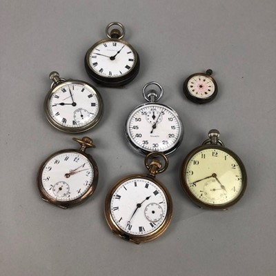 Lot 22 - A COLLECTION OF OPEN FACE POCKET WATCHES