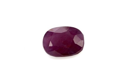 Lot 425 - **A CERTIFICATED UNMOUNTED RUBY