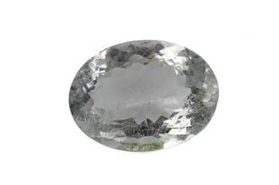Lot 454 - **A CERTIFICATED UNMOUNTED AQUAMARINE