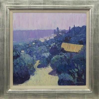 Lot 638 - HAZY LIGHT, CALLIAN, AN OIL BY JOHN KINGSLEY