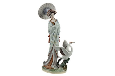 Lot 1059 - A LLADRO UTOPIA COLLECTION FIGURE OF 'JAPANESE PORTRAIT