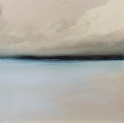 Lot 645 - AN UNTITLED OIL BY PHILIP RASKIN