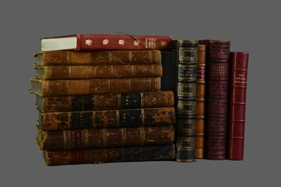 Lot 1138 - LOT OF LEATHER BOUND BOOKS