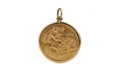 Lot 9 - A GEORGE V GOLD HALF SOVEREIGN DATED 1911