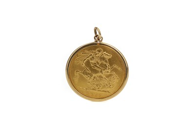 Lot 10 - A QUEEN VICTORIA GOLD SOVEREIGN DATED 1887