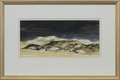 Lot 668 - AN UNTITLED WATERCOLOUR BY TOM HOVELL SHANKS
