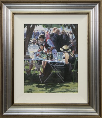 Lot 657 - SHARED MEMORIES II, A LIMITED EDITION PRINT BY SHERREE VALENTINE DAINES