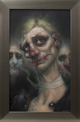 Lot 662 - THERE SHE GOES, AN OIL BY TIM LENATHEN