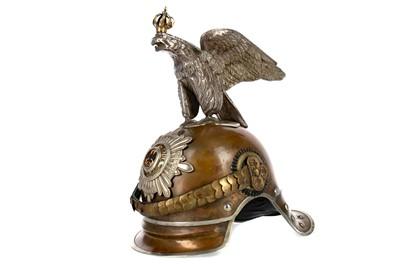 Lot 1668 - A GERMAN FIRST WORLD WAR 'GARDES DU CORPS' (BODYGUARD TO THE KAISER) HELMET