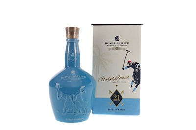 Lot 102 - CHIVAS REGAL ROYAL SALUTE AGED 21 YEARS - THE BEACH POLO EDITION