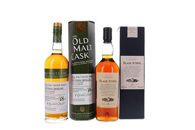 Lot 108 - BLAIR ATHOL 1995 OLD MALT CASK AGED 18 YEARS AND BLAIR ATHOL AGED 12 YEARS FLORA & FAUNA