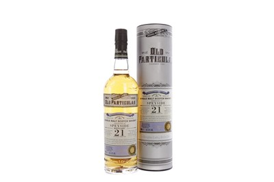 Lot 112 - SPEYSIDE 1999 OLD PARTICULAR AGED 21 YEARS