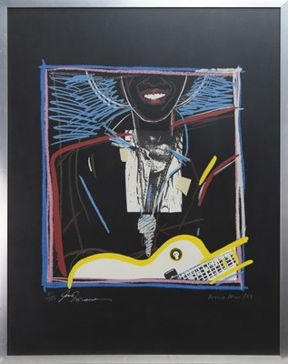 Lot 1 - THE KEY, A PRINT BY DONNA MUIR