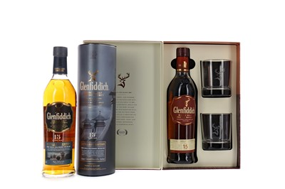 Lot 113 - GLENFIDDICH SOLORA RESERVE AGED 15 YEARS AND DISTILLERY EDITION 15 YEARS OLD