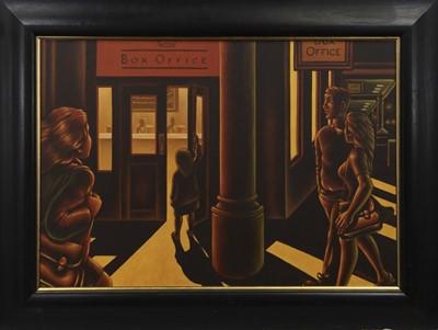 Lot 555A - BOX OFFICE, AN OIL BY GRAHAM MCKEAN