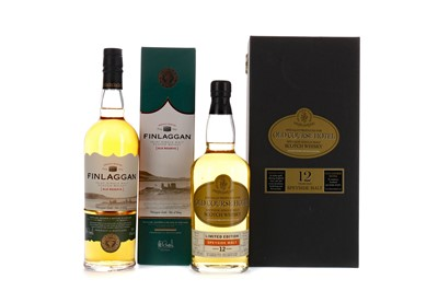 Lot 122 - OLD COURSE HOTEL AGED 12 YEARS AND FINLAGGAN OLD RESERVE