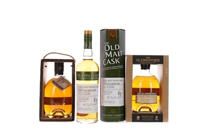 Lot 140 - MORTLACH 2000 OLD MALT CASK AGED 13 YEARS, AND TWO GLENROTHES SELECT RESERVE
