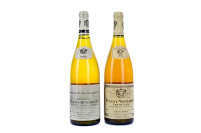 Lot 126 - LOUIS JADOT PULIGY-MONTRACHET 1999 AND 1998