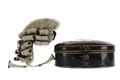 Lot 1647 - A LATE 19TH CENTURY BARRISTER'S WIG