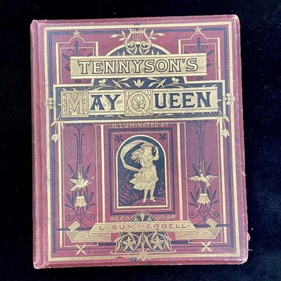 Lot 67 - TENNYSON'S MAY QUEEN, ILLUMINATED BY L SUMMERBELL